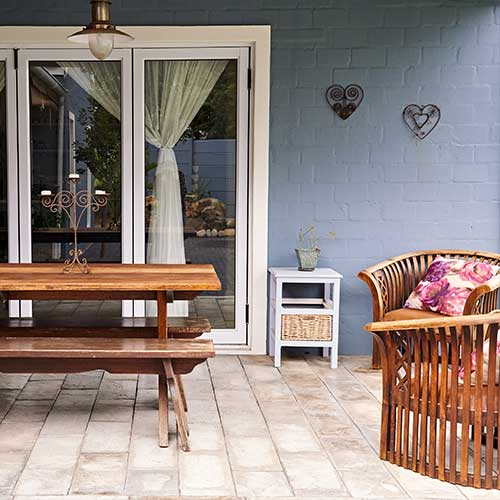 Give Your Backyard a Color Scheme   Blog   The Painting Company